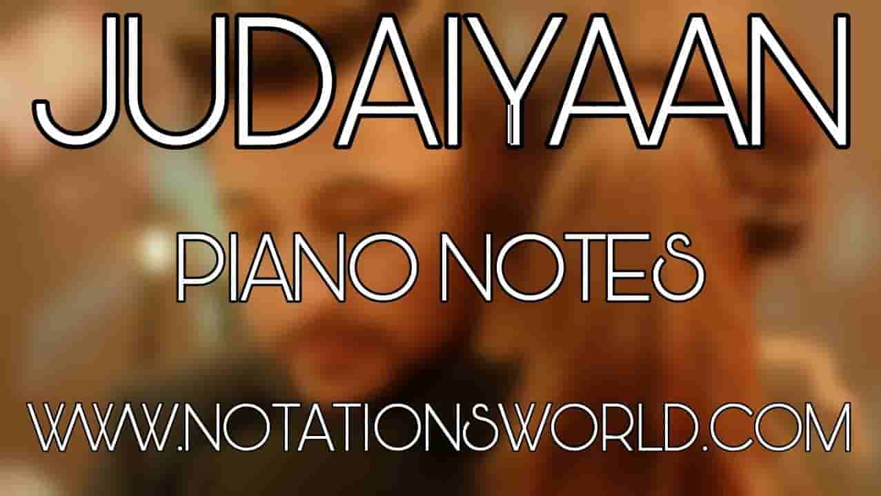 Judaiyaan Piano Notes