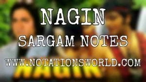 Nagin Sargam And Flute Notes