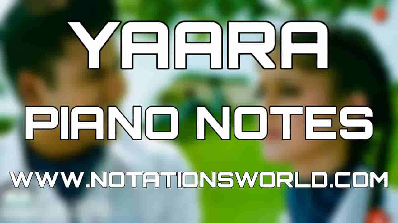 Yaara Piano Notes