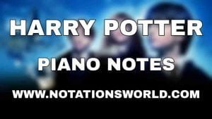 Harry Potter Piano Notes