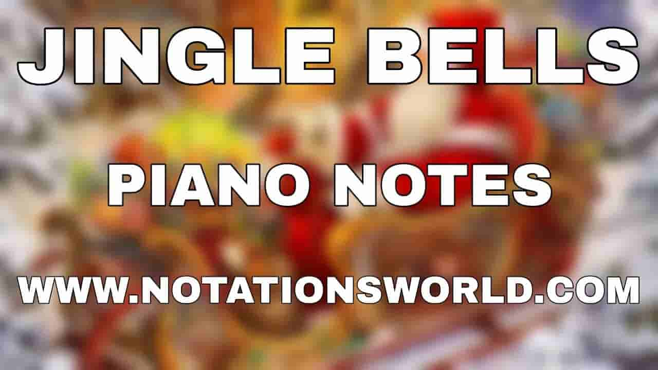 Jingle Bells Piano Notes