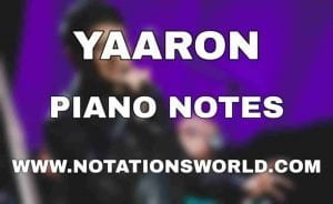 Yaaron Piano Notes