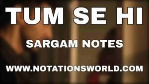 Tum Se Hi Sargam And Flute Notes