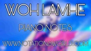 Woh Lamhe (Zeher) Piano Notes For Beginners