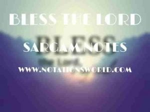 10,000 Reasons (Bless The Lord) - Sargam And Flute Notes