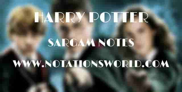 Harry Potter (Theme Song) - Sargam And Flute Notes