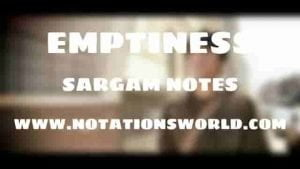 Tune Mere Jaana (Emptiness) - Sargam And Flute Notes