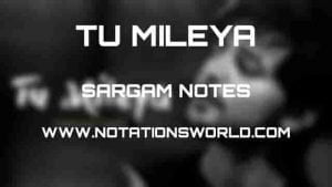 Tu Mileya (Darshan Raval) - Sargam And Flute Notes
