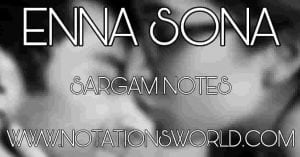 Enna Sona Sargam And Flute Notes