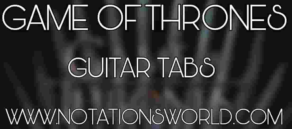 Game Of Thrones Guitar Tabs