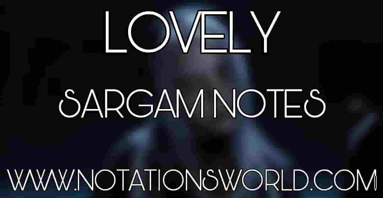 Lovely Sargam And Flute Notes